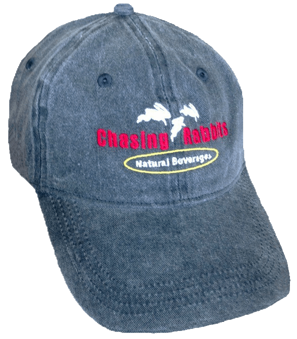 Chasing Rabbits® Natural Beverages Offers 'Baseball Style' Dad Hats With Vitality Tea Pre Orders.